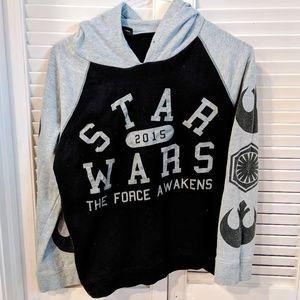 Star Wars Force Awakens sweatshirt/hoodie medium